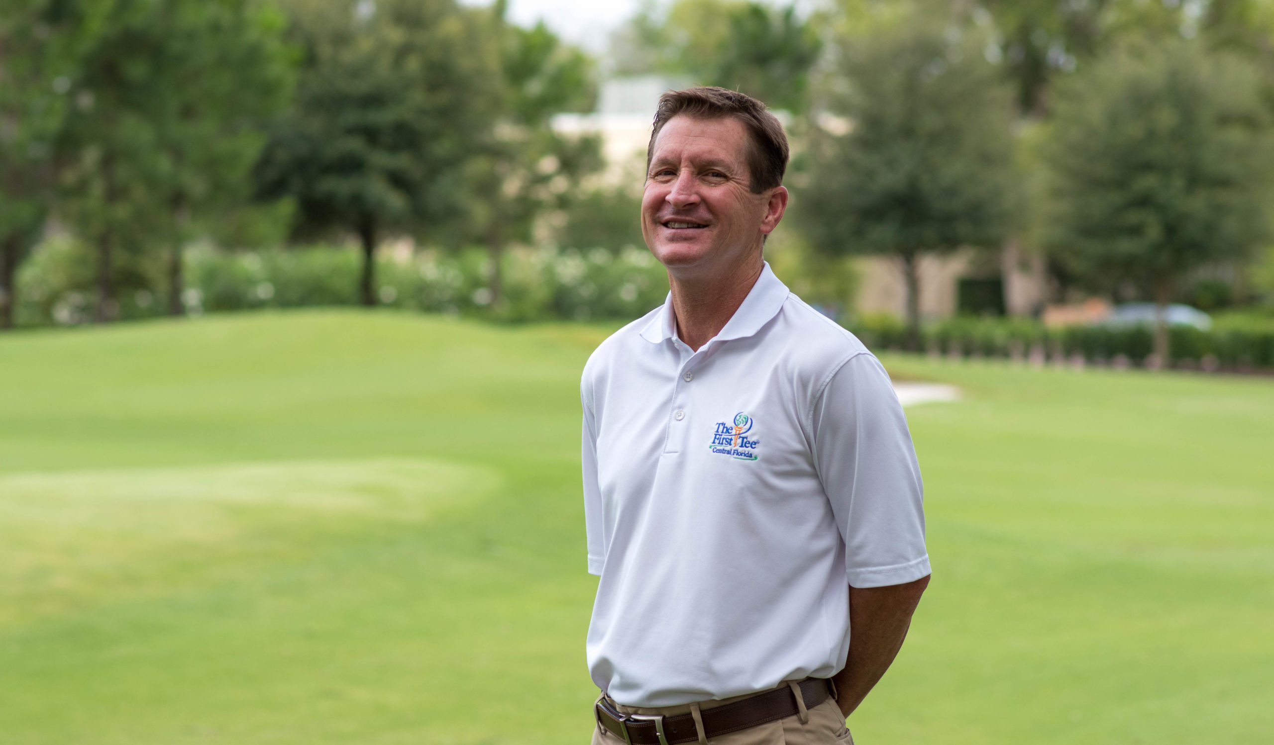 Scott Spragg pictured on the Winter Park Golf Course.