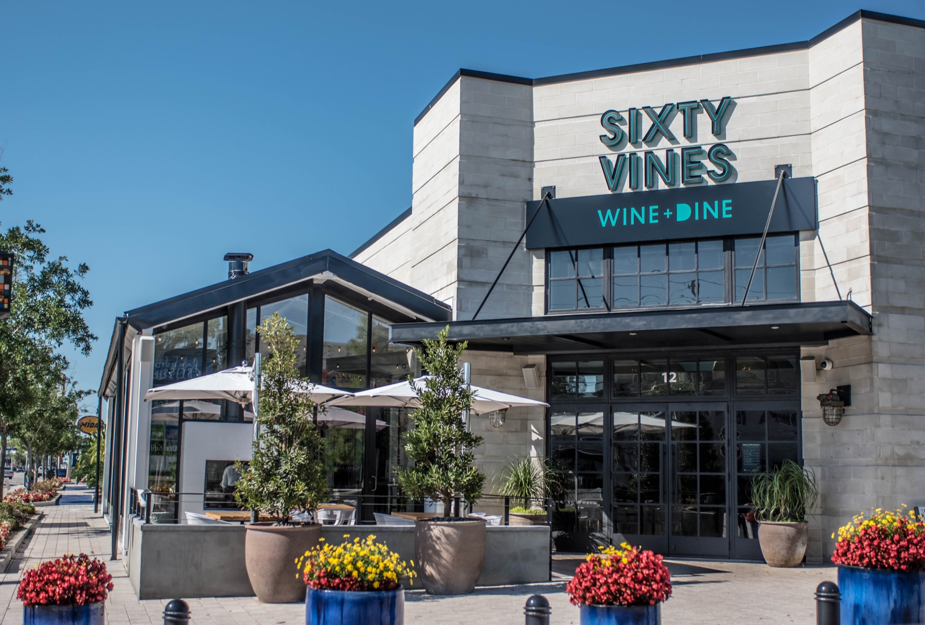 NSixty Vines, located on Orlando Ave. In Winter Park, Florida