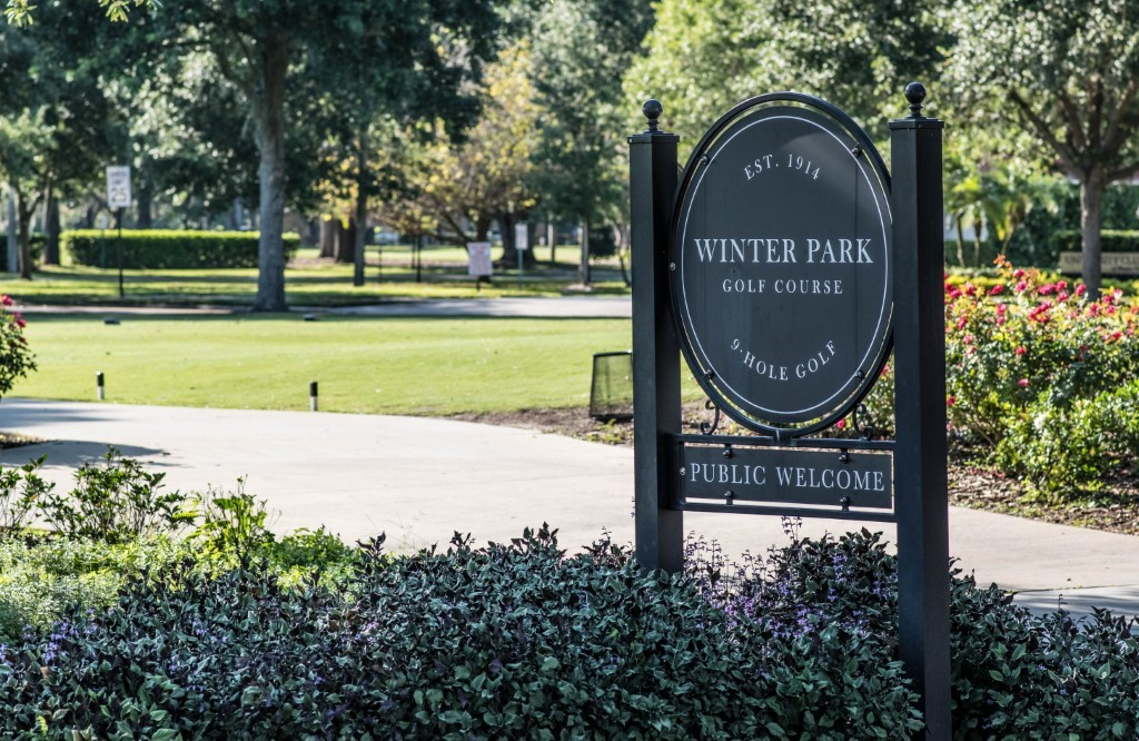 Winter Park Golf Course located on Webster Avenue