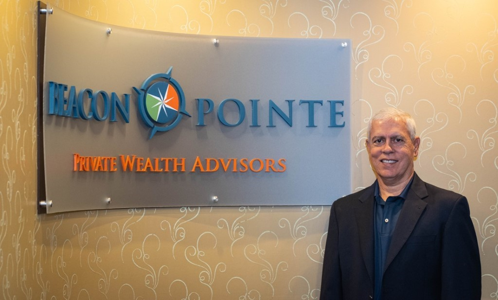 Jimmy Ferrel pictured at the Beacon Pointe office.