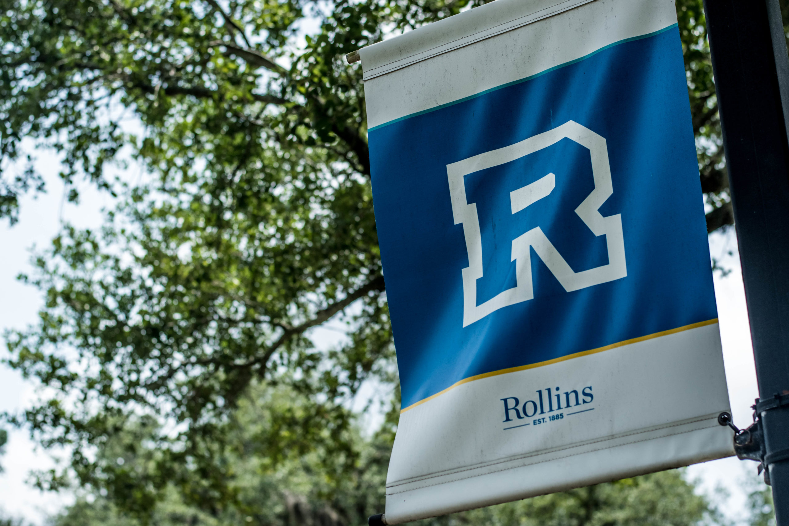 Rollins College flag.