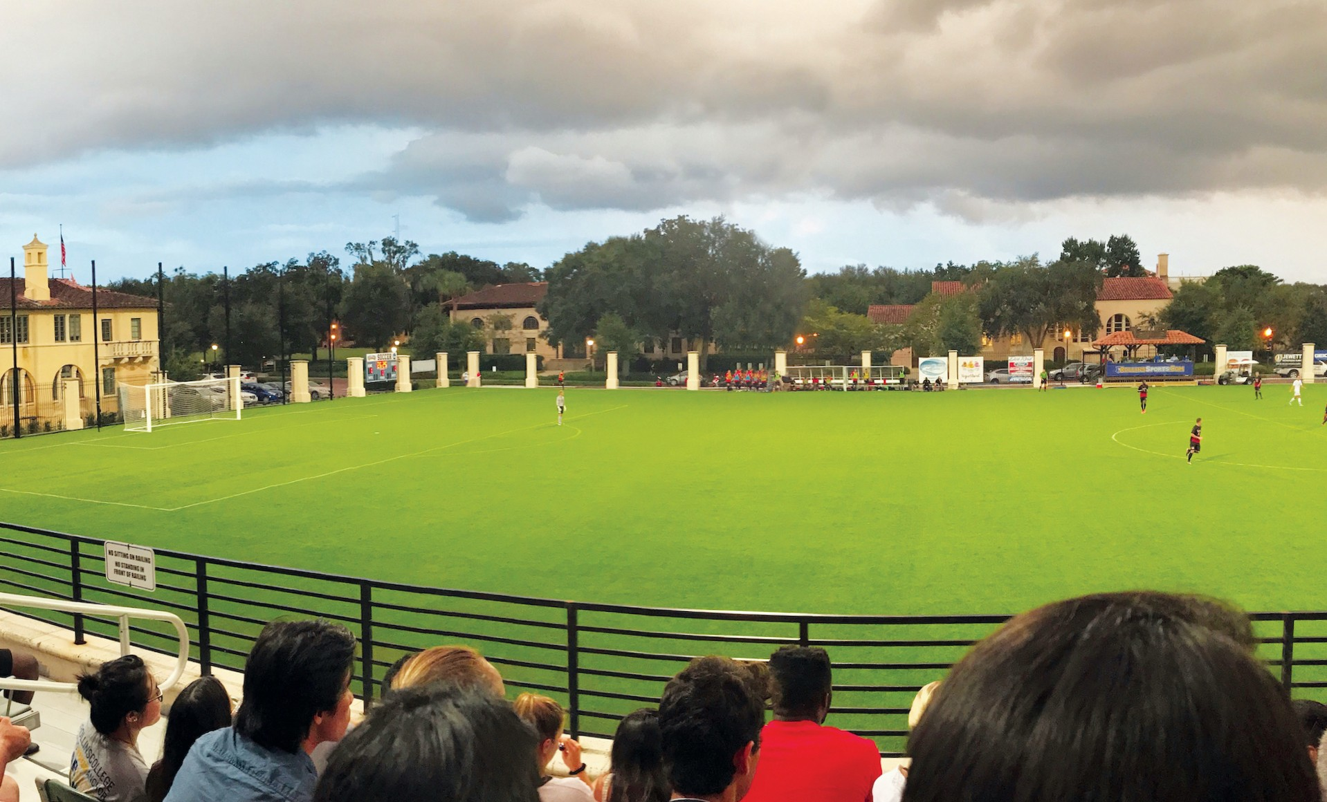 Rollins College Sandspur Stadium and soccer field.