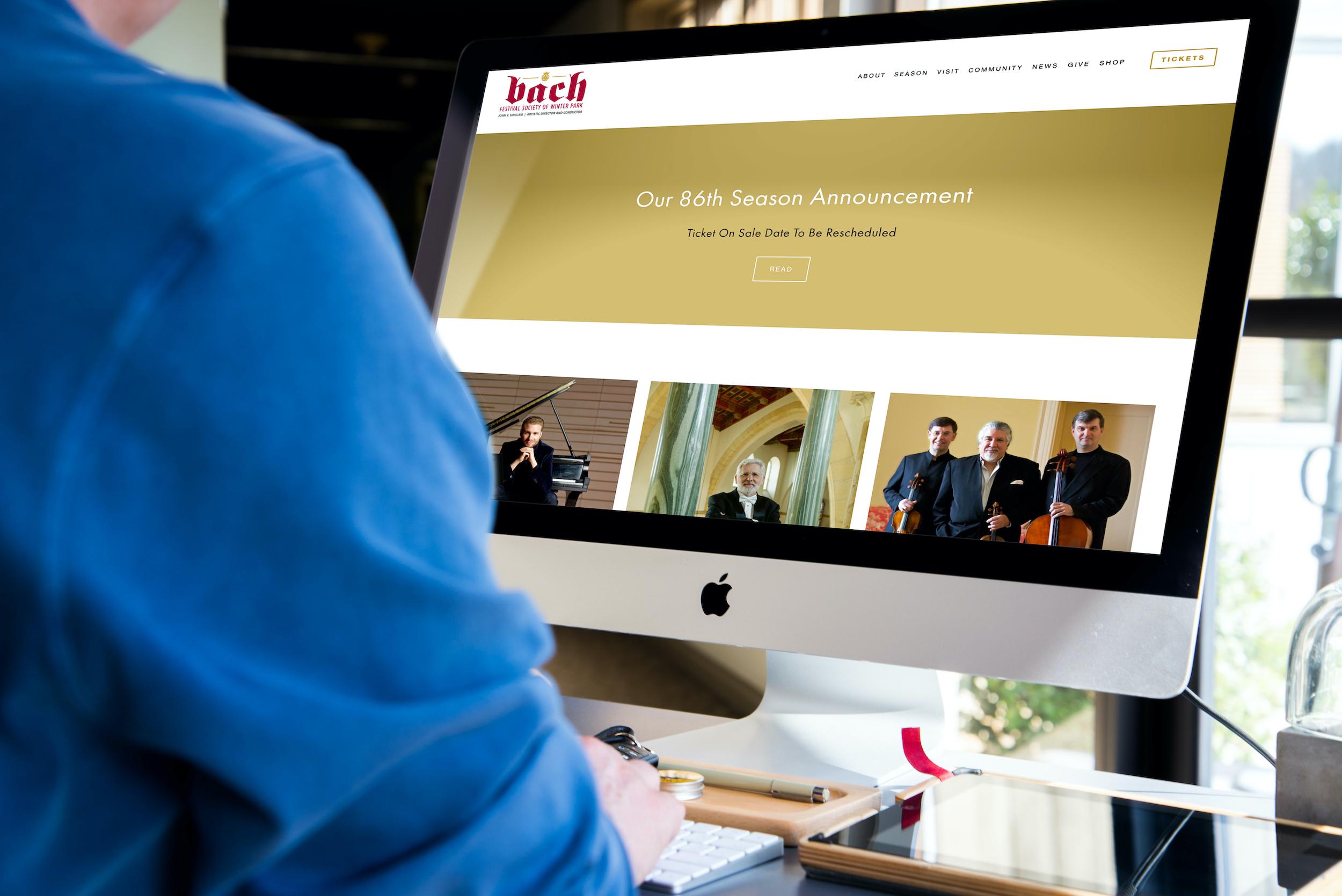 Bach Festival Society website.