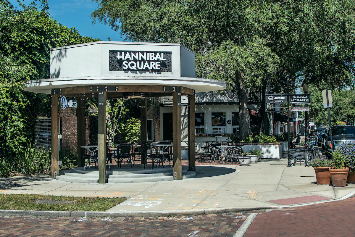 Hannibal Square in Winter Park, Fla.