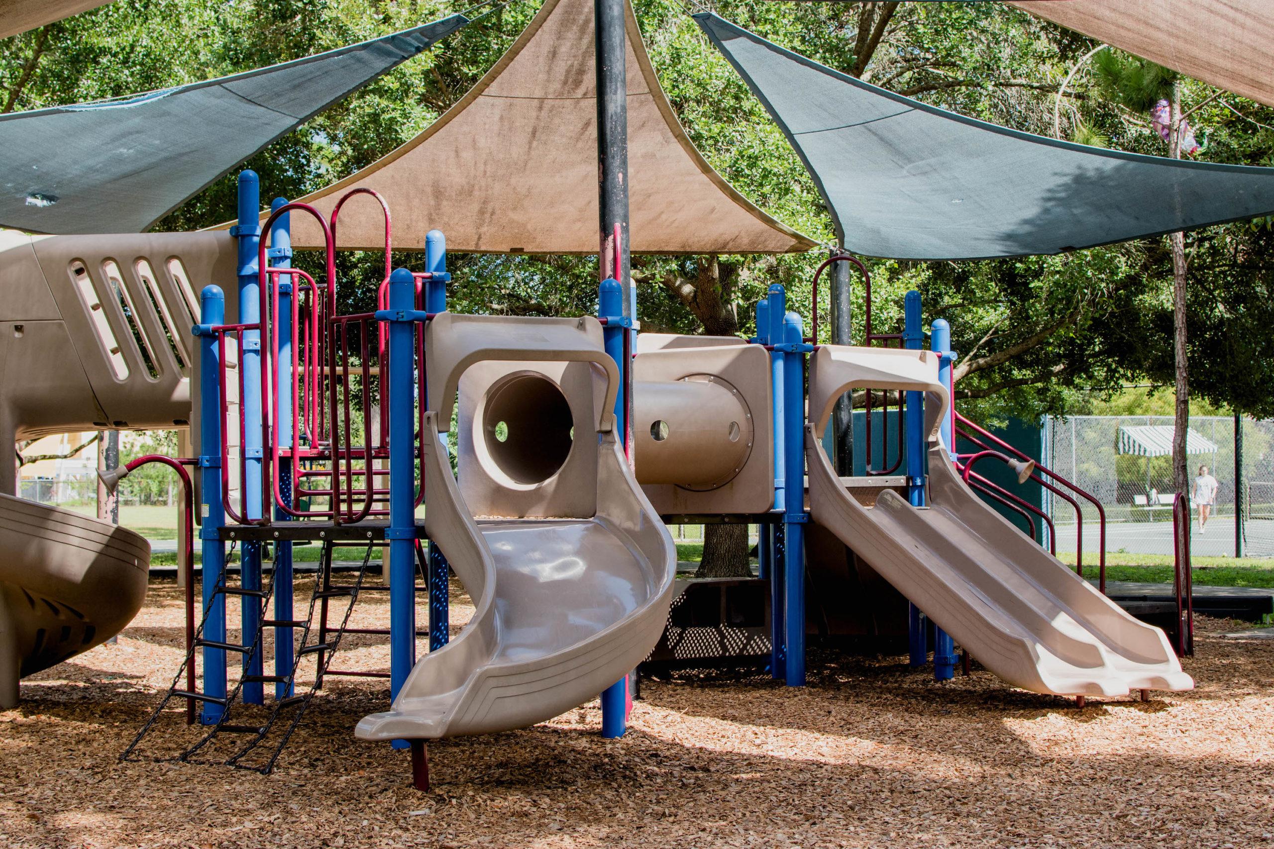 Phelps Park Playground in Winter Park, Florida.
