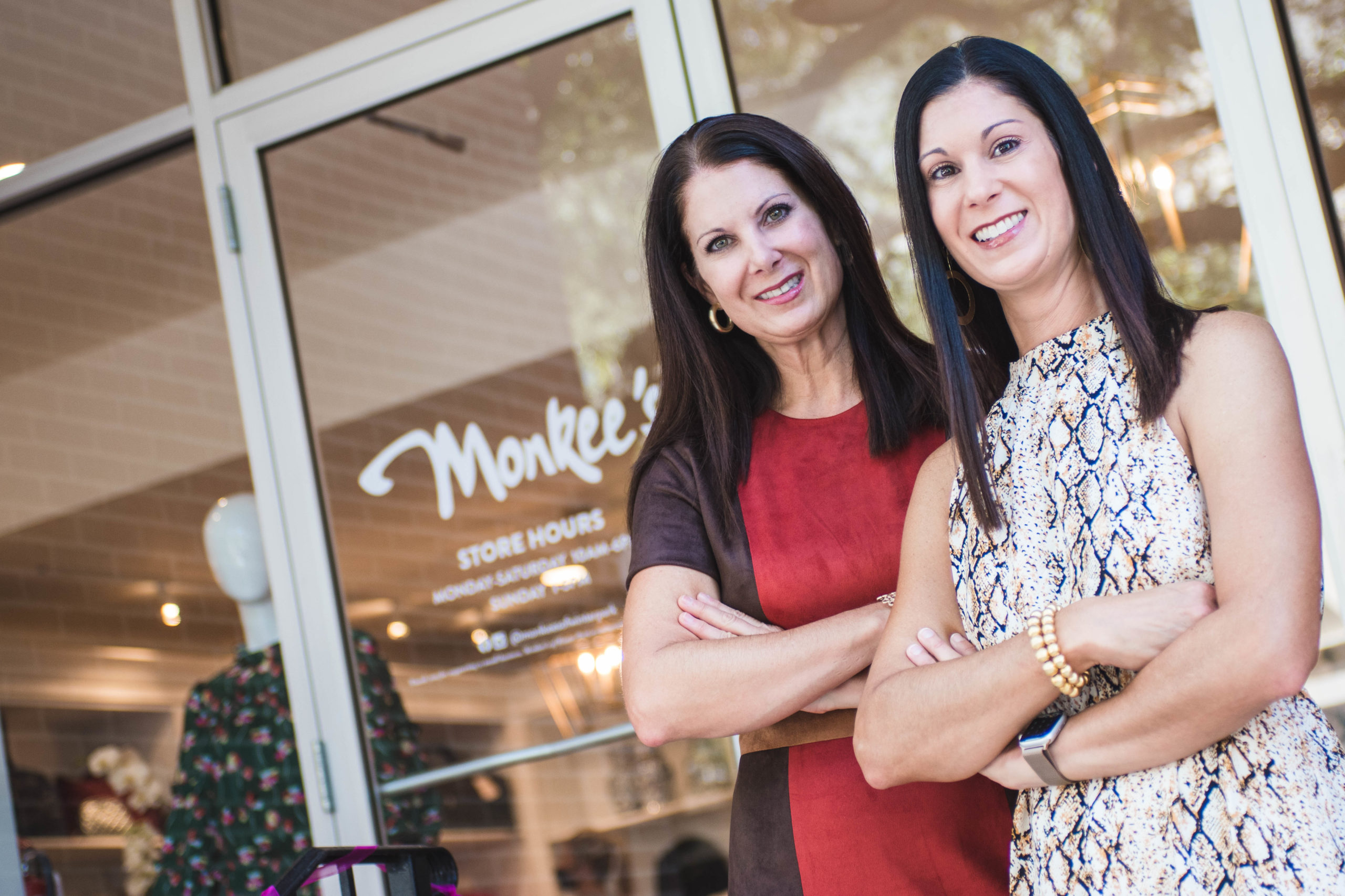 Monkee's of Winter Park co-owners at their store in Hannibal Square.