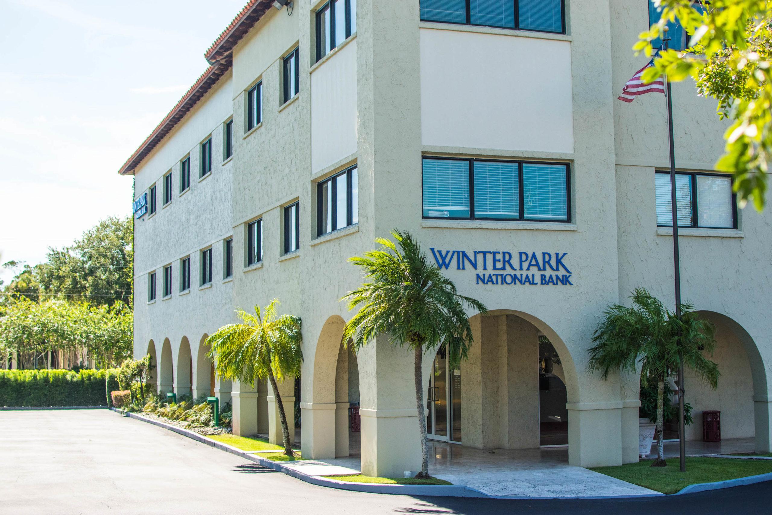 Winter Park National Bank office building.