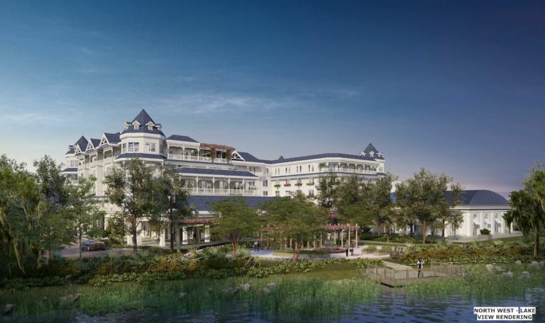 Proposed Henderson Hotel rendering.