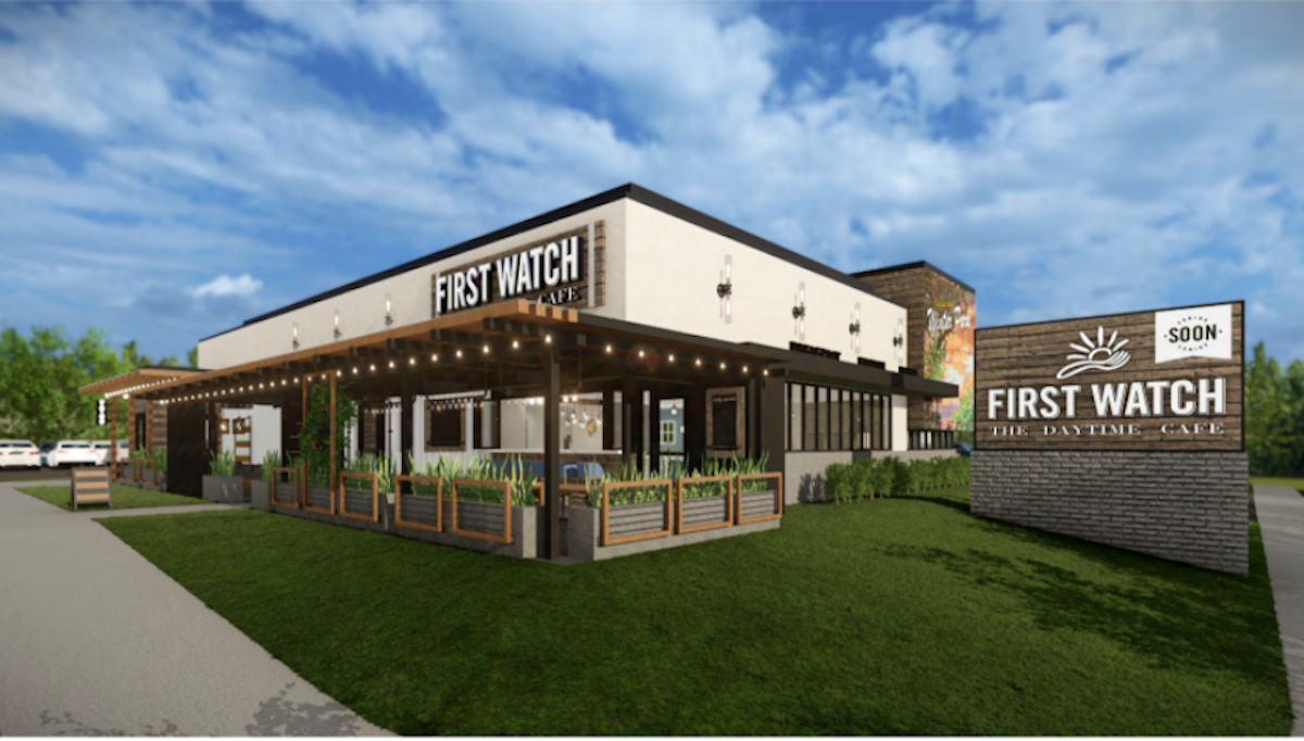 First Watch Exterior Rendering