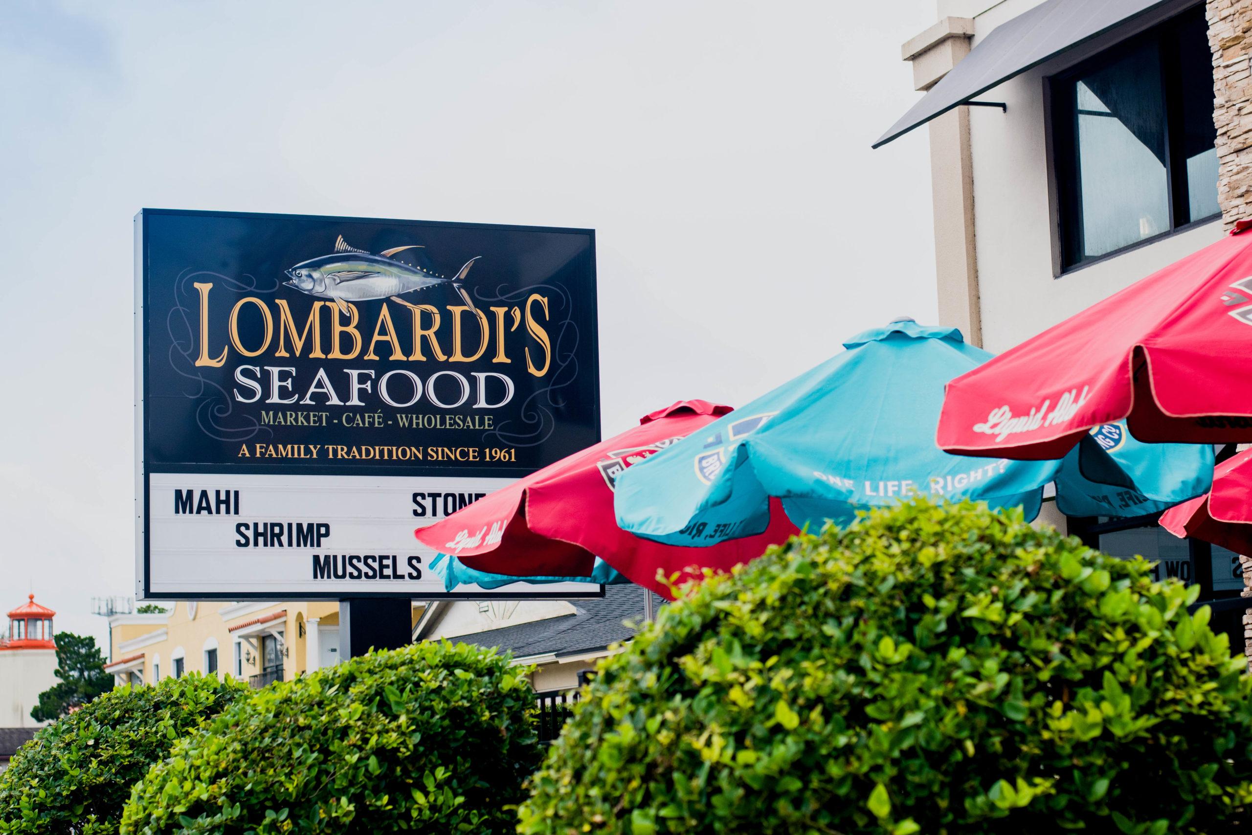 Lombardi's Seafood on Fairbanks Avenue.