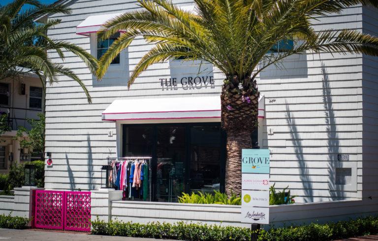 The Grove boutique store.