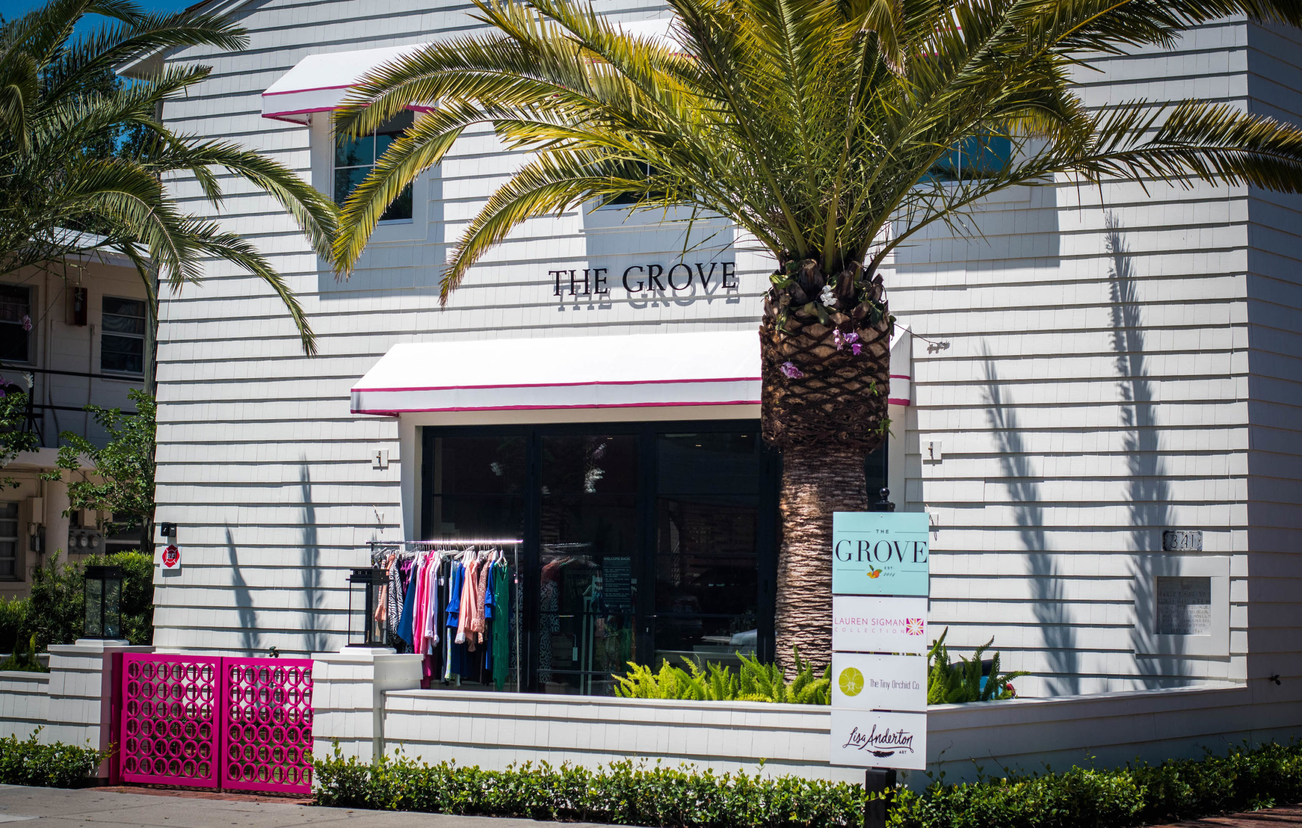 The Grove boutique store.