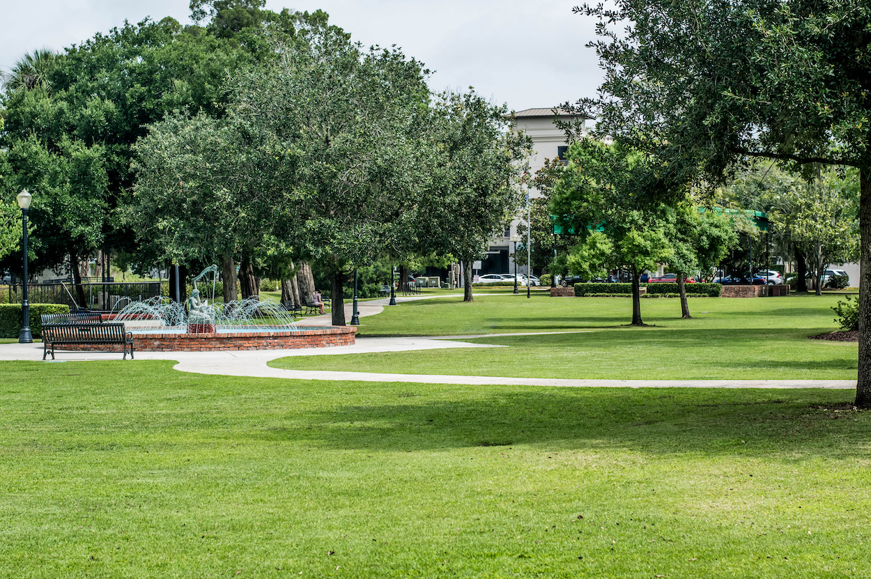 Central Park in Winter Park, Fla.