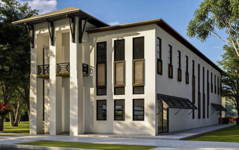 Exterior rendering of a Vilasa Homes property.