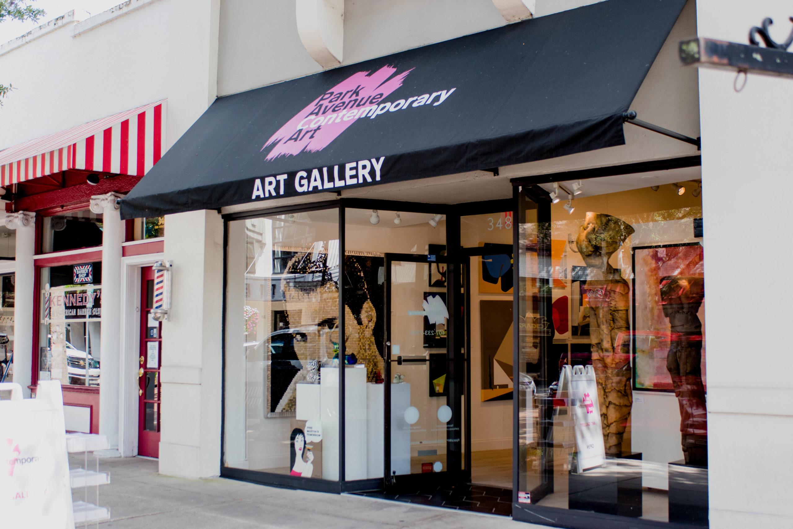 Exterior of Park Avenue Contemporary Art.